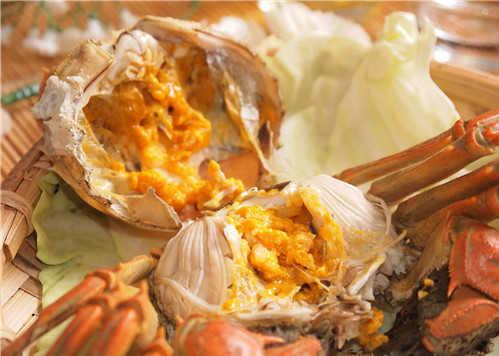螃蟹蒸熟了放冰箱冷冻后能吃吗?