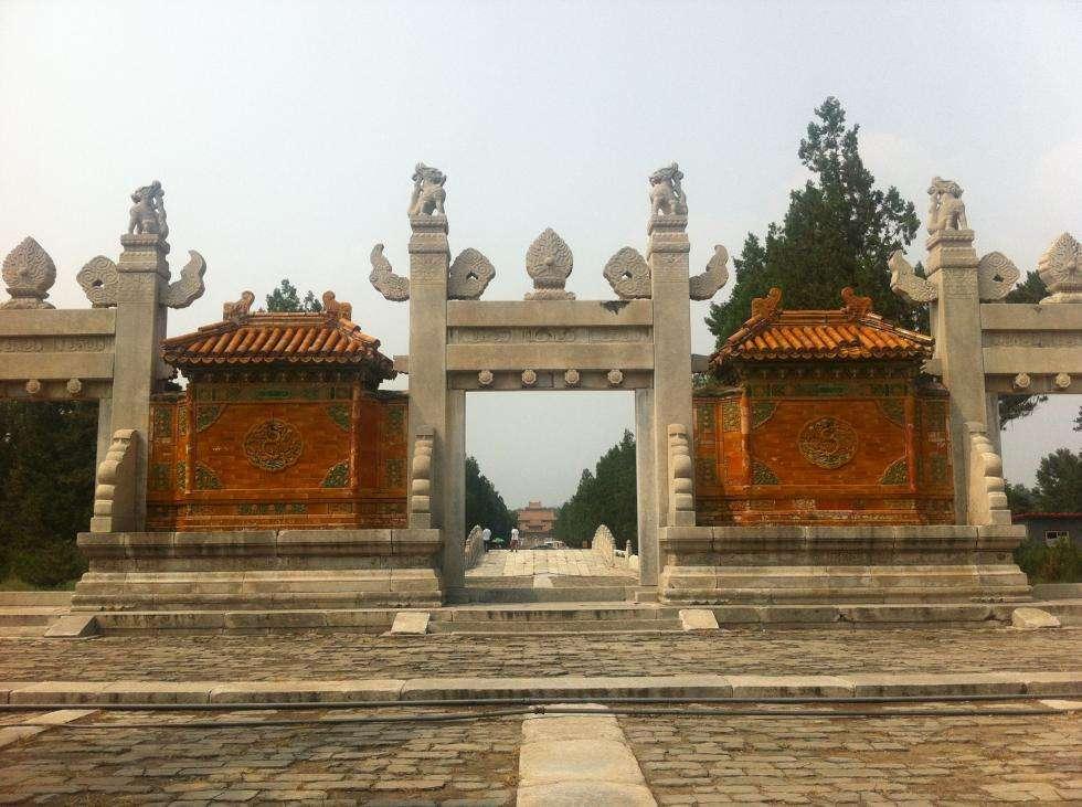 关于清西陵景区暂停开放的公告