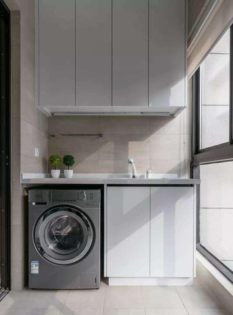 阳台洗衣柜的好处