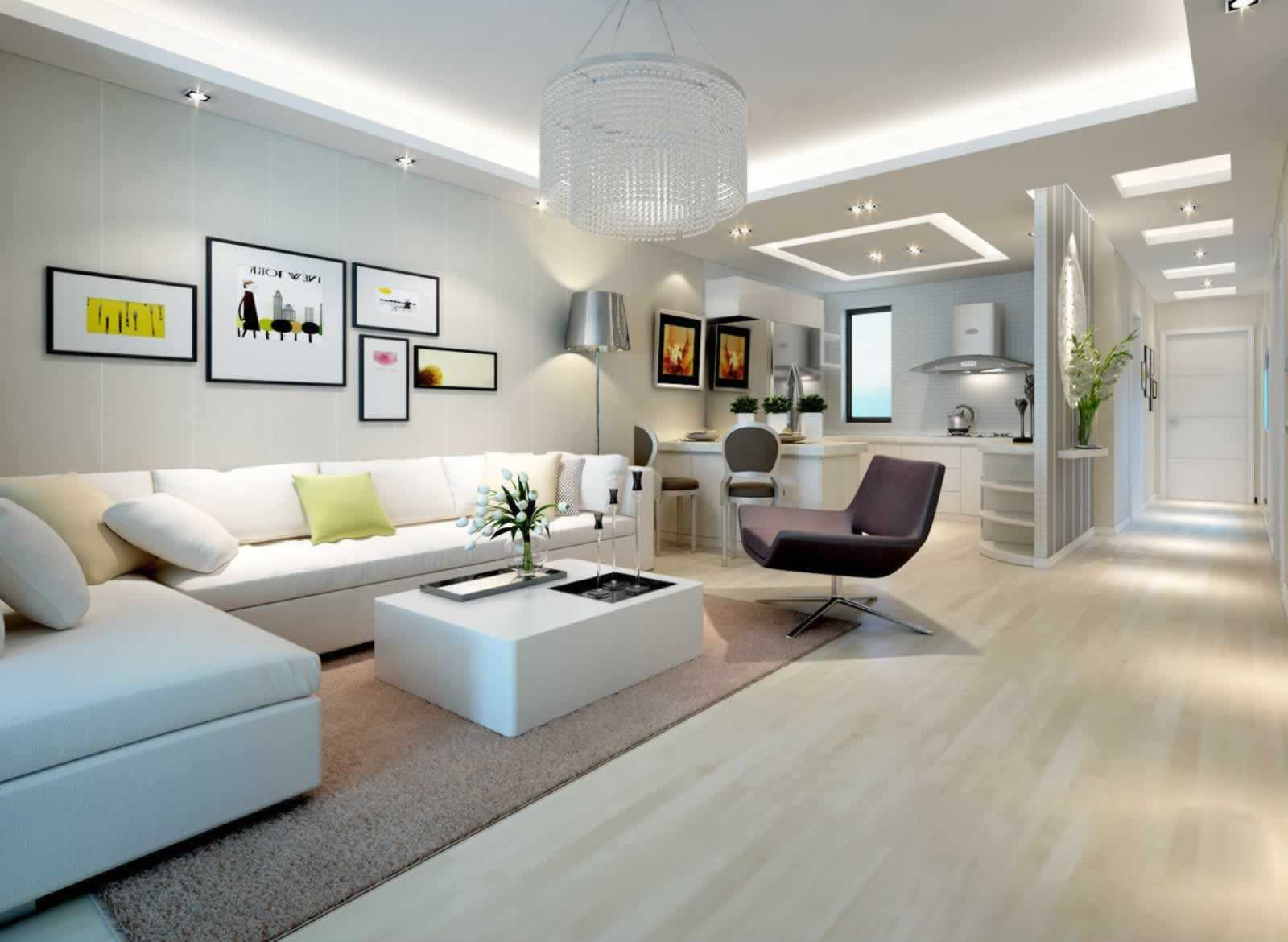 现代家居的客厅背景墙怎么设计?