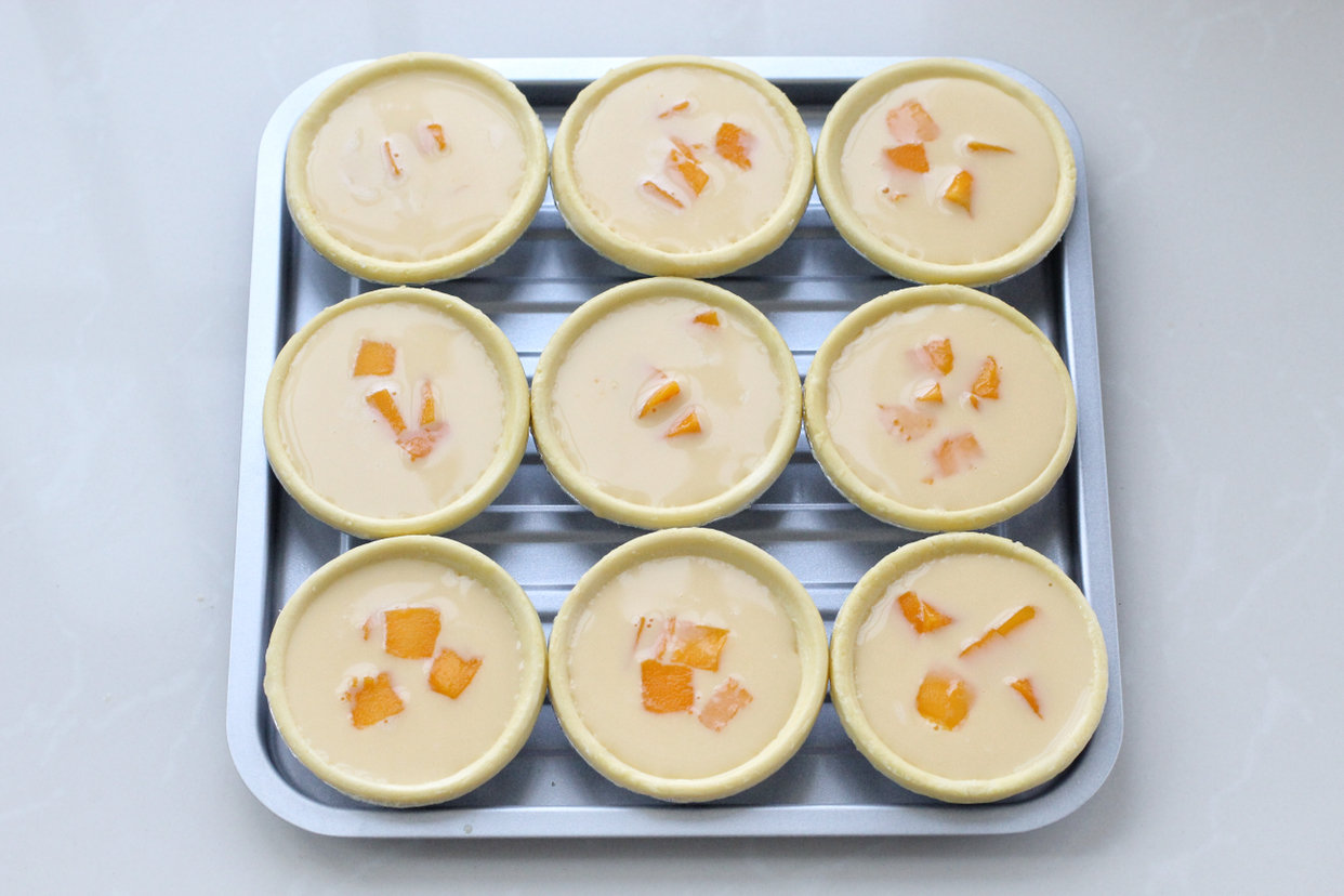自制芒果蛋挞的做法
