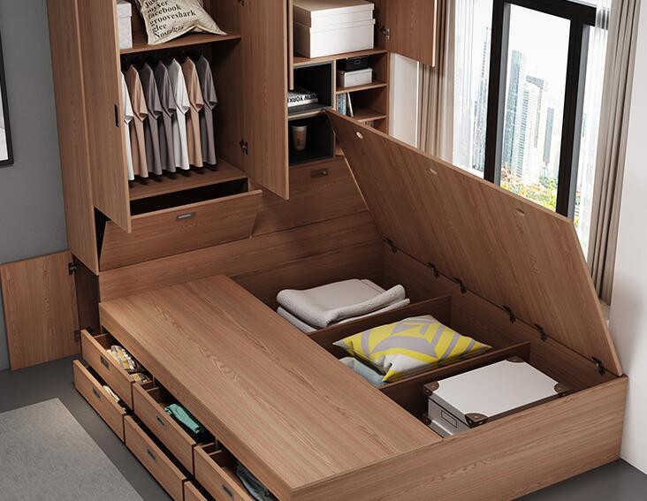 小户型卧室这样设计,实用又好看!