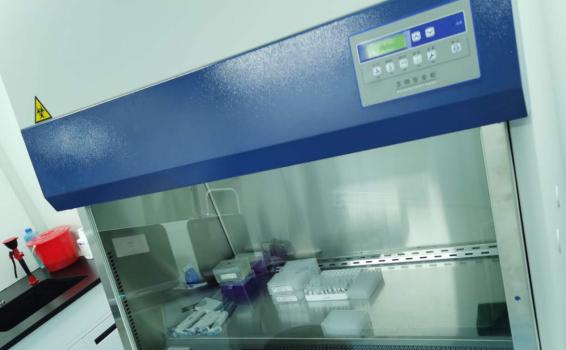 保定市骨科医院核酸检测实验室正式投入使用