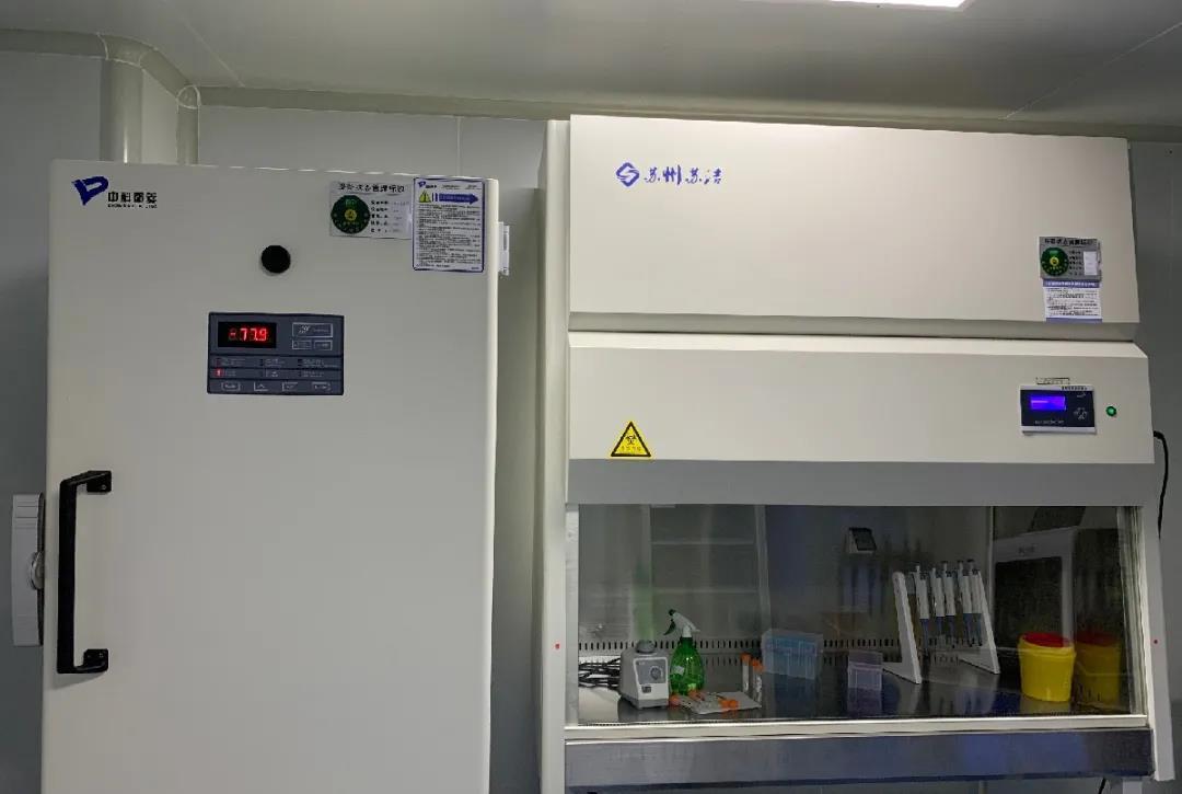 保定大午医院核酸实验室投入使用,可进行核酸检测!