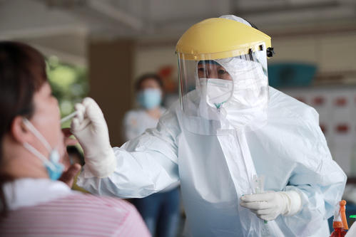 满城区人民医院核酸检测就诊流程