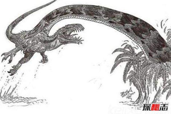 一亿年巨蟒沃那比蛇,一口吞掉霸王龙,堪称第一巨蛇